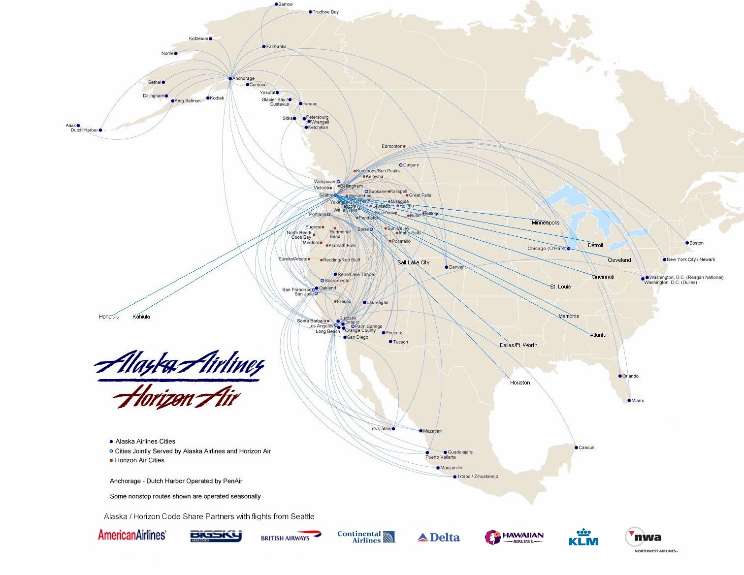 Alaska Airlines Route Map Related Keywords Amp Suggestions